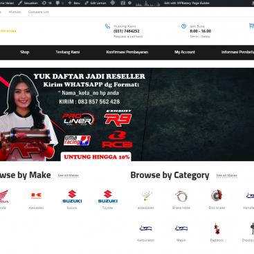 portofolio web desain karunia utama surabaya